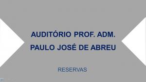 Reserva do Auditório
