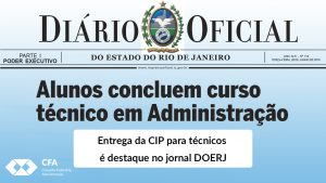 Entrega da CIP para técnicos é destaque no jornal DOERJ