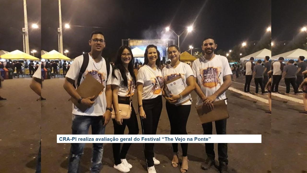 """CRA-PI realiza avaliação geral do Festival """"The Vejo na Ponte"""""""