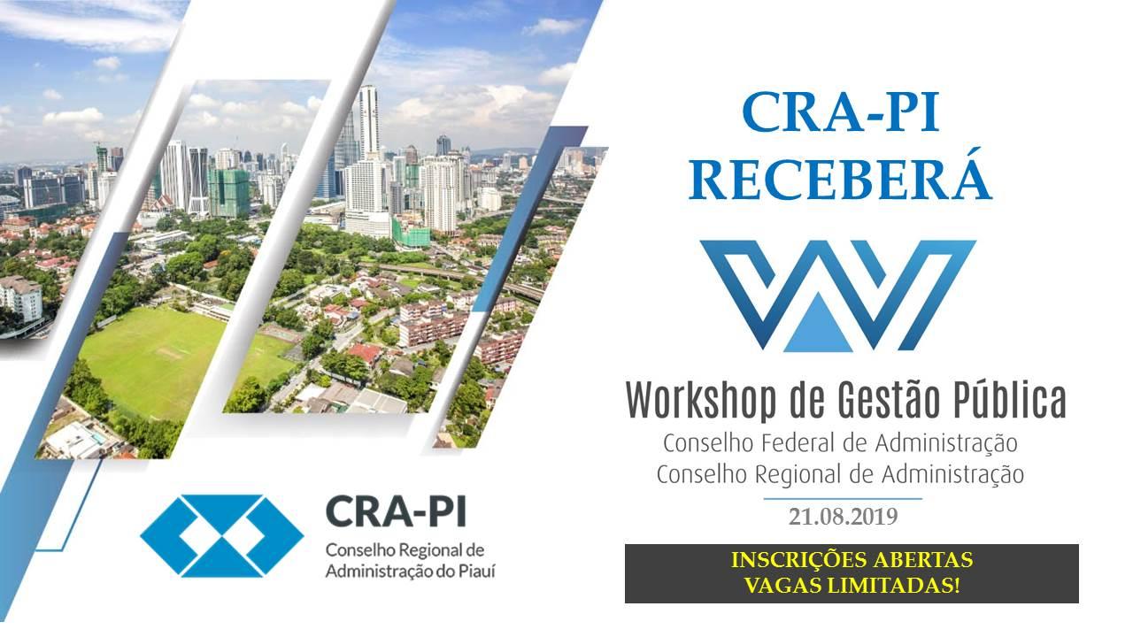 Workshop GESTÃO PÚBLICA