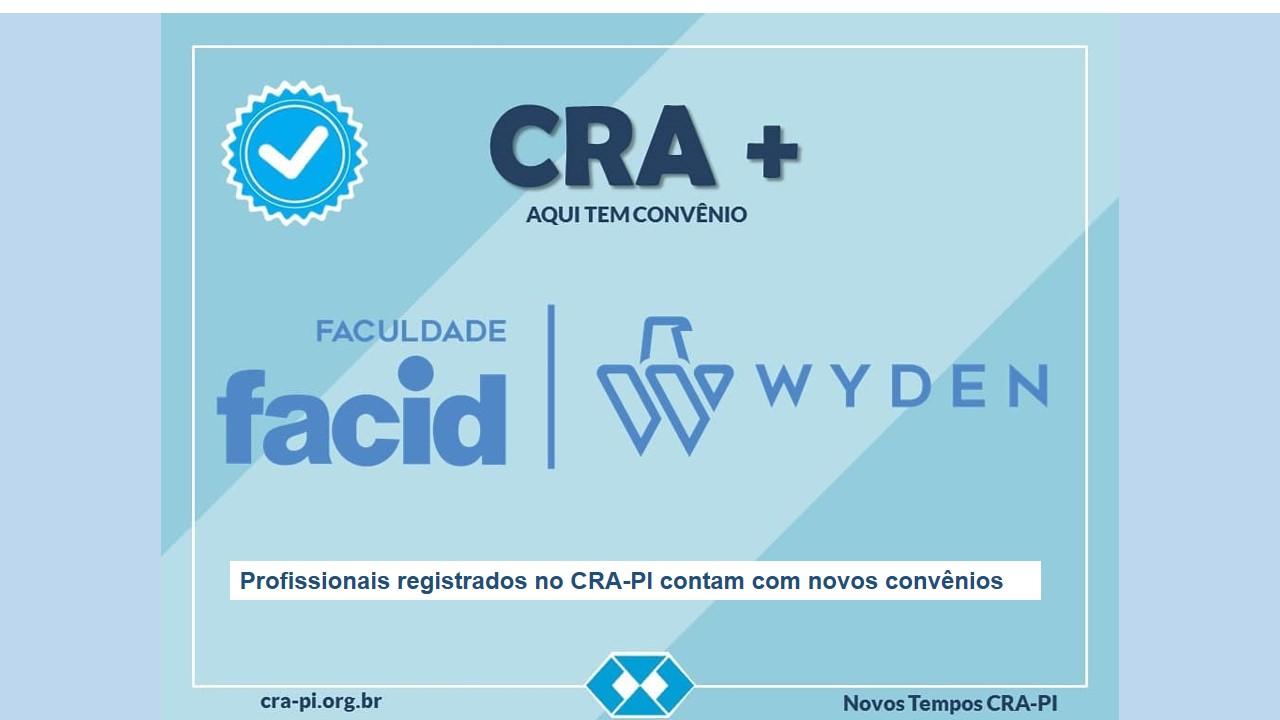 Profissionais registrados no CRA-PI contam com novos convênios