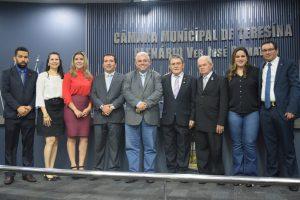 Sessão solene na Câmara Municipal homenageia administradores