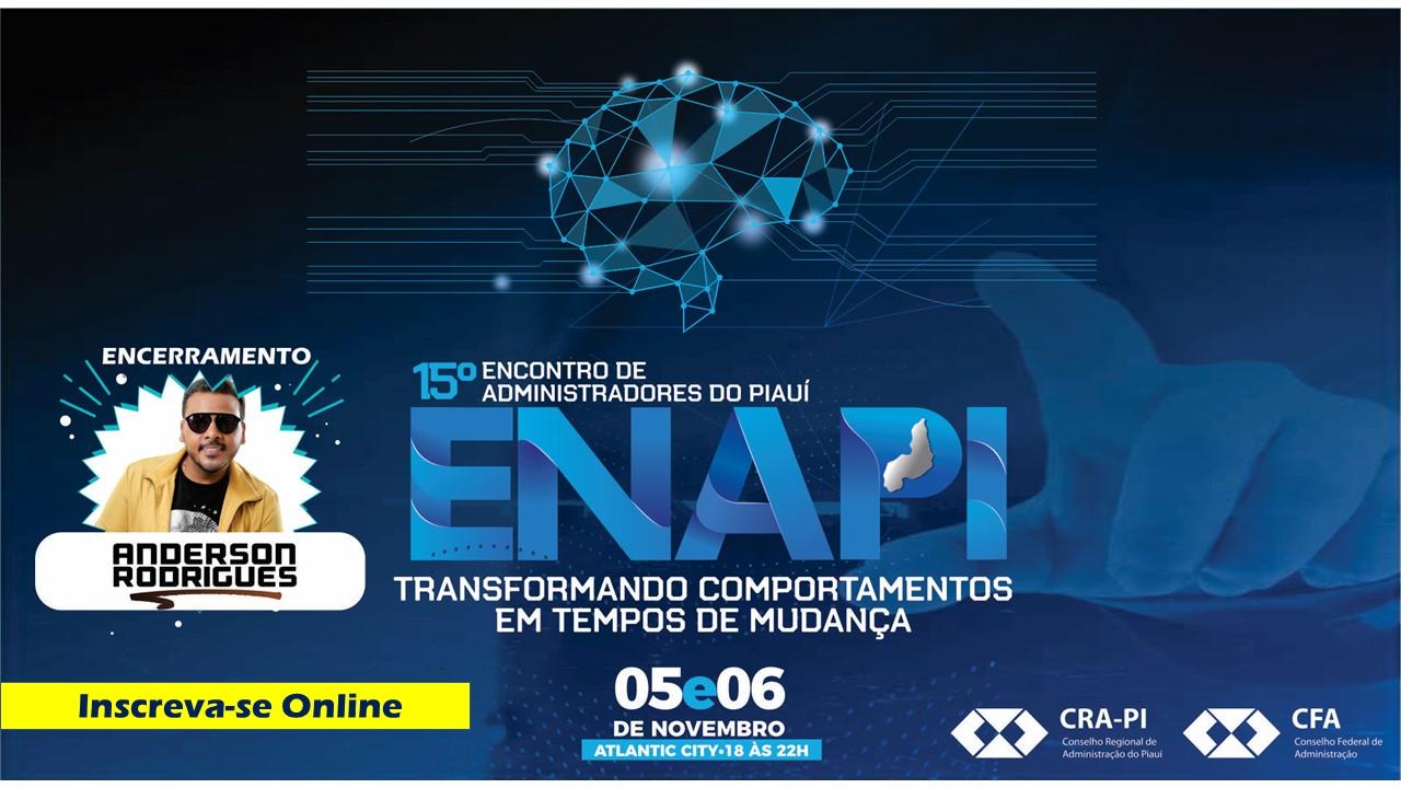 Inscreva-se Online para o 15º ENAPI