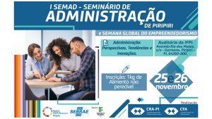 I SEMAD de Piripiri