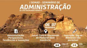 I SEMAD- Seminário de Administração de São Raimundo Nonato