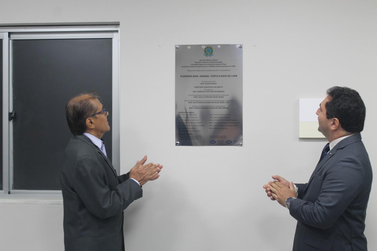 Inaugurado o primeiro plenário do Conselho Regional de Administração do Piauí (CRA-PI)