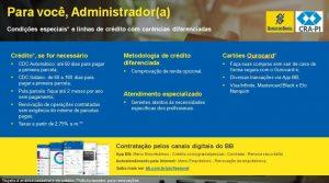 Banco do Brasil apresenta condições especiais para os profissionais de Administração