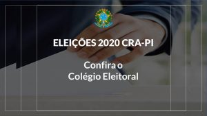 Colégio Eleitoral CRA-PI 2020